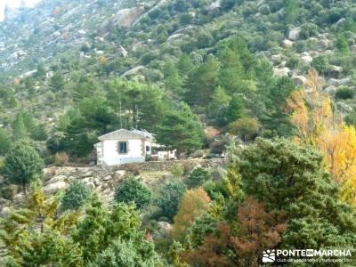 La Pedriza - Collado del Cabrón - Charca Verde - Refugio Giner_ Viaje Senderismo Madrid;senderismo